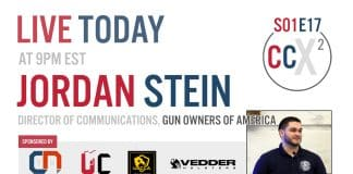 CCX2 S01E17: Live With Jordan Stein, Gun Owners Of America