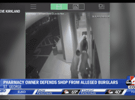 Utah Pharmacist Prevents Burglary With Carry Gun, Chases Three Suspects Off