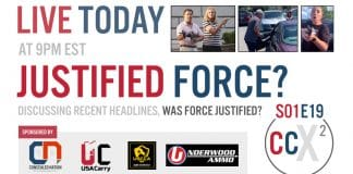 CCX2 S01E19: Justified Force? Taking A Look At A Few Recent Incidents