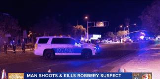 Armed Citizen Stops Violent Crime Spree, Killing the Suspect, 1 Bystander Shot and Killed