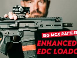 Enhanced Everyday Carry (EEDC) Loadout w/ SIG MCX Rattler PCB