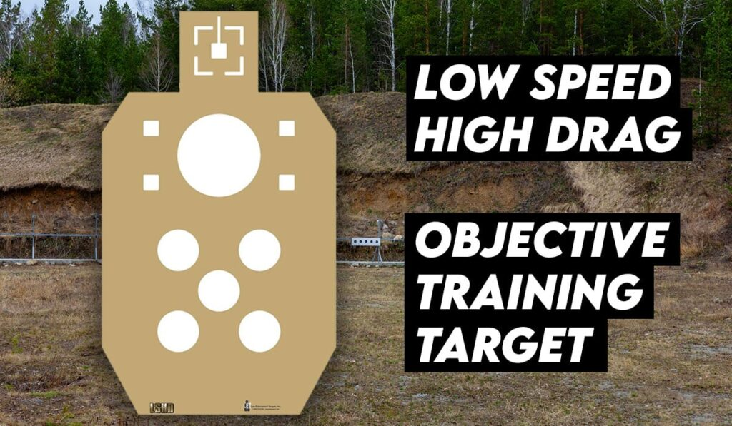 Low Speed High Drag Objective Training Target
