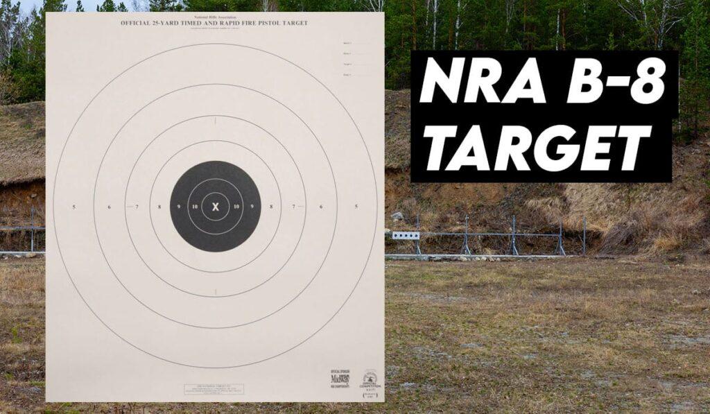 NRA B-8 Target