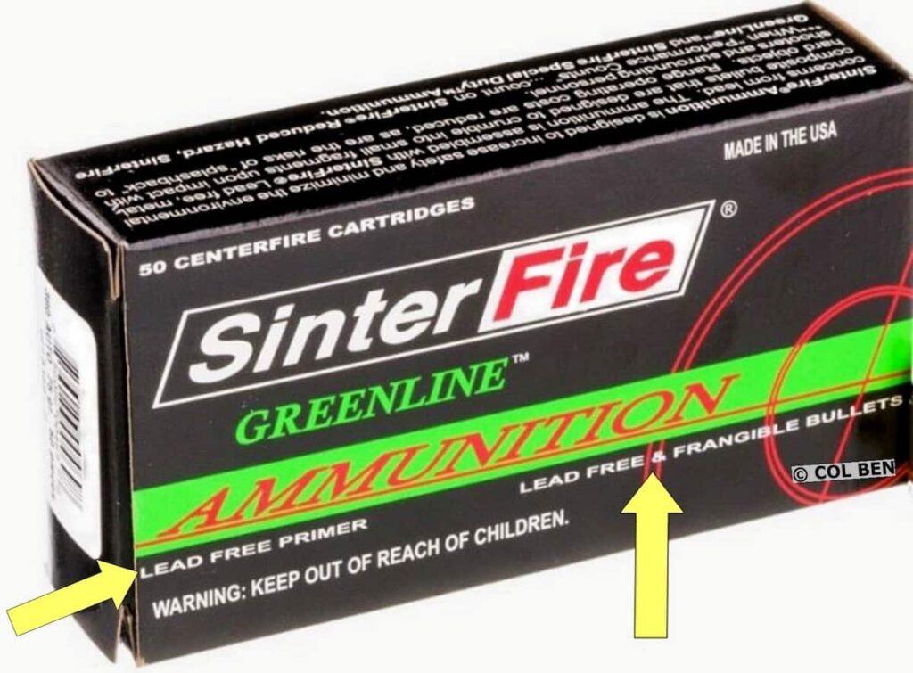 SinterFire Lead-Free Frangible Ammo