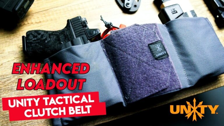 [VIDEO] Enhanced Loadout w/ the Unity Tactical CLUTCH Belt | Review