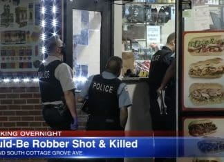 Man Robbing Gas Station Shot In The Back, Killed