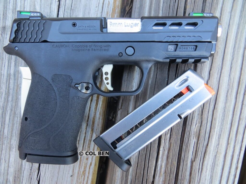 Smith & Wesson Performance Center M&P9 Shield EZ 9mm - Right Side