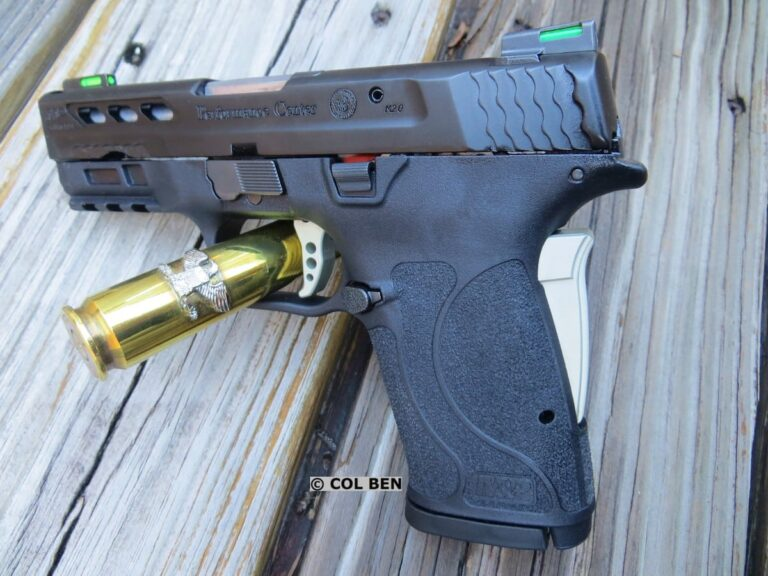 First Shots: Smith & Wesson Performance Center M&P9 Shield EZ Review