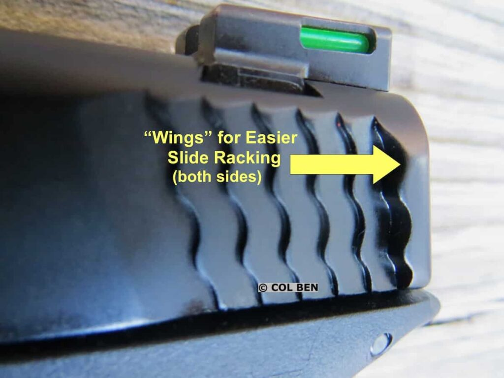 """Performance Center M&P9 Shield EZ """"Wings"""" to Help Slide Racking"""