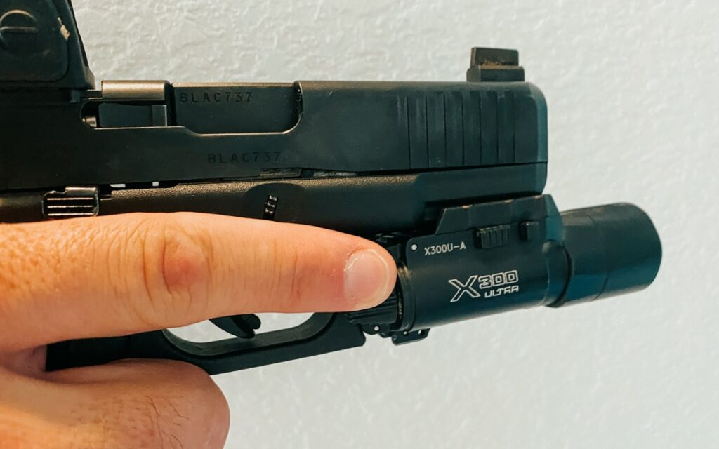 Weapon Light Trigger Finger Switch