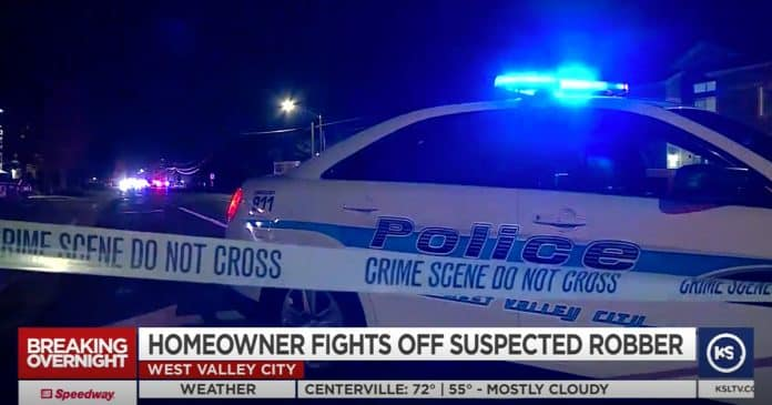 Homeowner with a Shotgun Stops Knife Wielding Serial Burglar