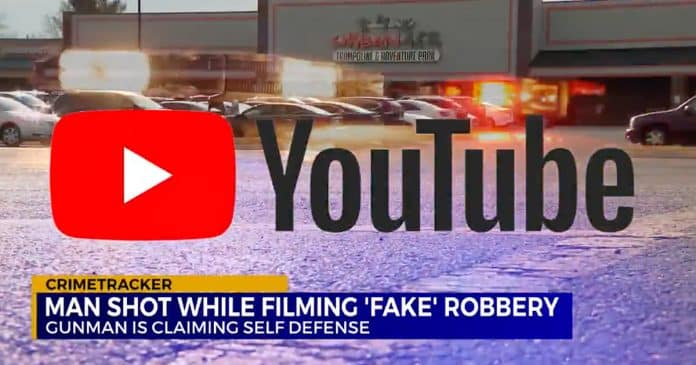 Man Shot, Killed Acting Out A Fake Robbery For A YouTube Video