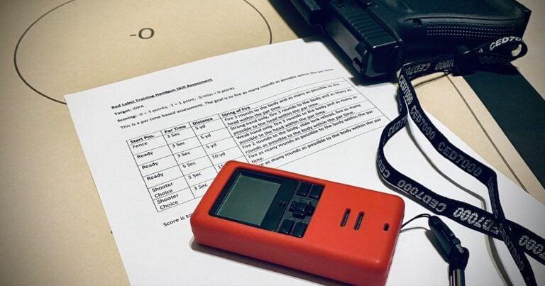 Red Label Training Handgun Skills Test
