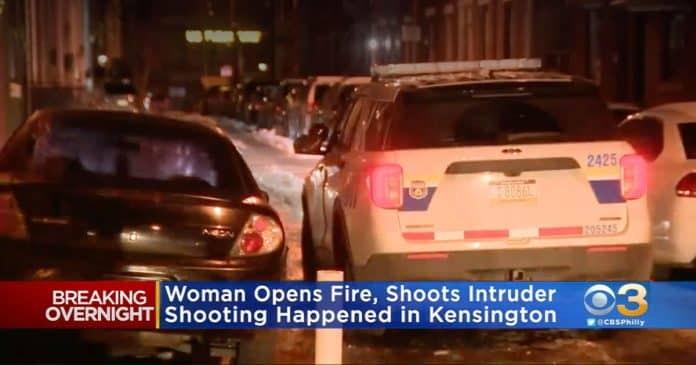 Philadelphia Woman Shoots Intruder in Thigh; Critically Wounds Him