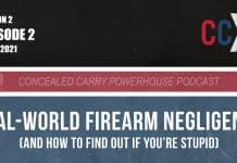 CCX2 S2E2: Real-World Firearm Negligence (and how to find out if you're stupid)