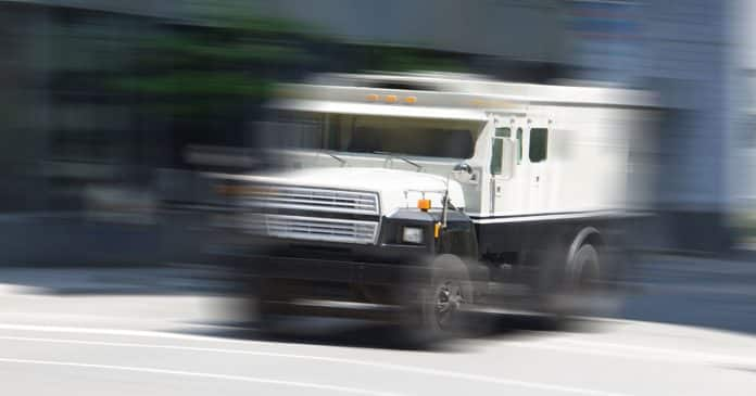 Man Attempts Armored Truck Robbery, Gets Shot in Chest by Guard