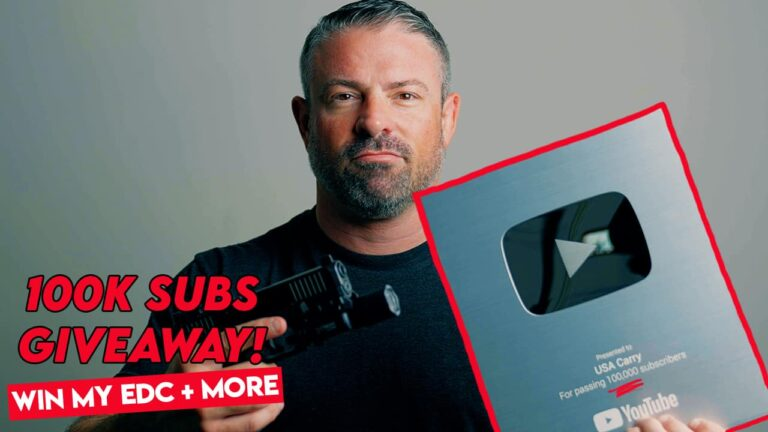 Win My EDC! 100K YouTube Subscriber Giveaway