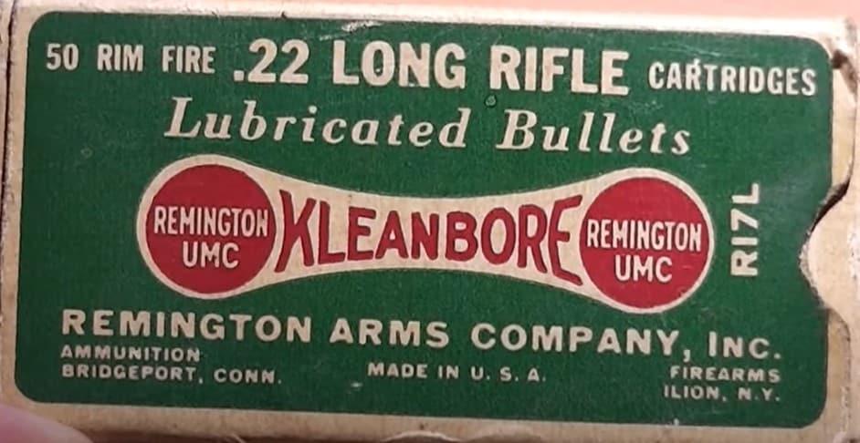 90-Year-Old .22 Long Rifle Rimfire Ammo