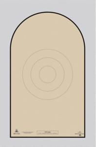 NRA D-1 Target