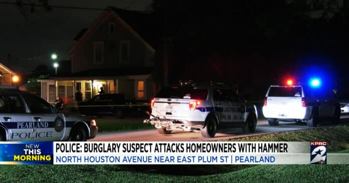 Armed Resident Shoots Home Invader After Being Attacked with a Hammer