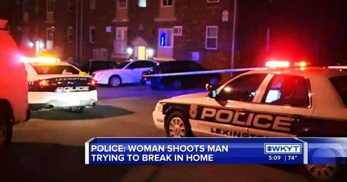 Lexington Woman Shoots Apartment Intruder