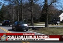 Police Chase Ends With Suspect Being Shot By Homeowner
