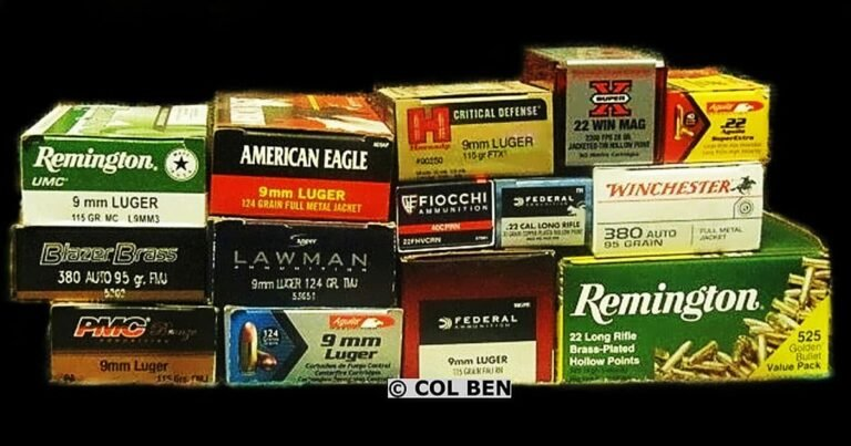 Using, Storing, and Disposing Of Old, Good, or Bad Ammo