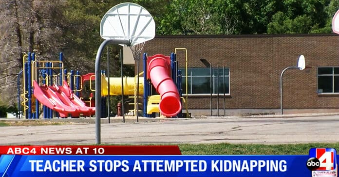 Armed Teacher Saves Student from Attempted Kidnapping