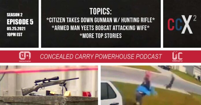 CCX2 S02E05: Armed Citizen Shoots Gunman w/ Hunting Rifle + More