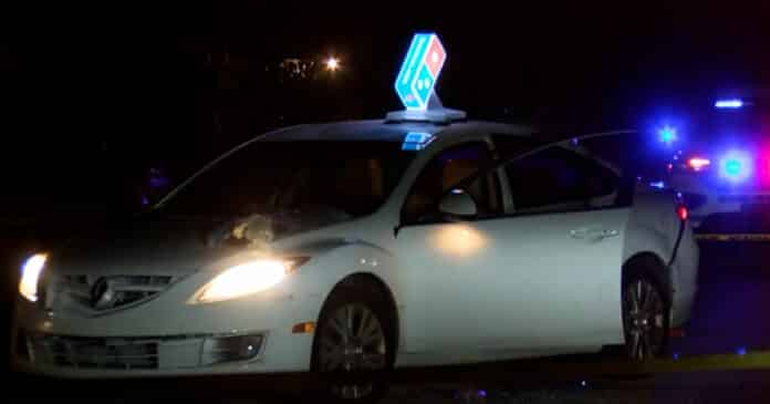 Domino's Driver Fights Back After Being Robbed and Pepper Sprayed