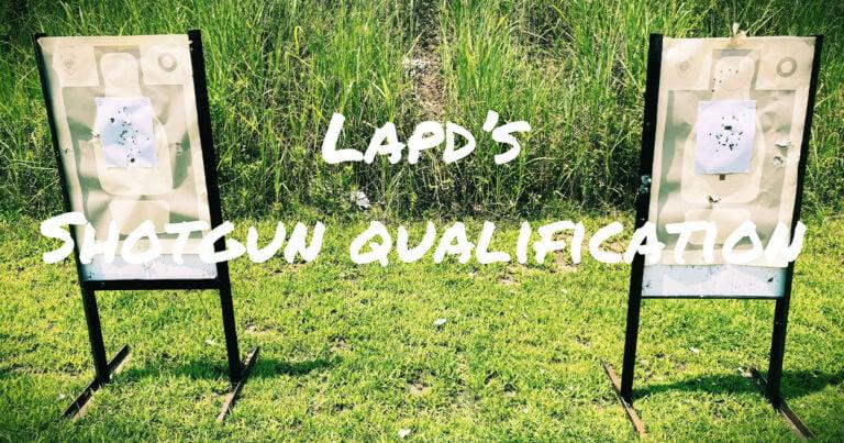 Shooting LAPD's Shotgun Qualification