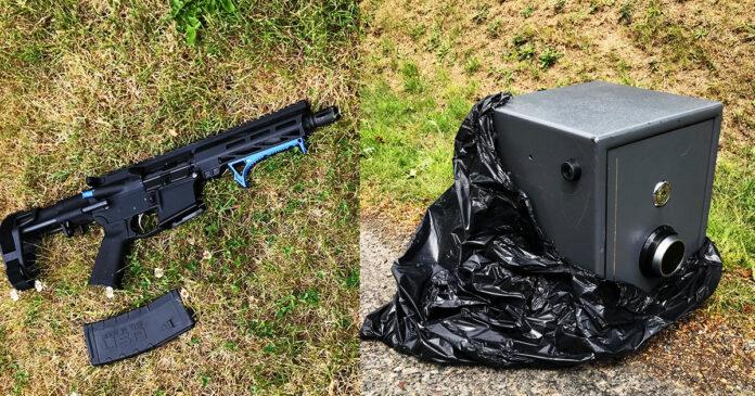 Victim Draws Firearm on Man with Stolen AR-15; Fires Warning Shot