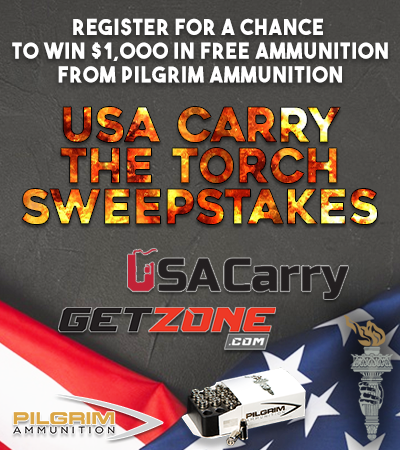 Win $1,000 Worth of Ammo from USA Carry, GetZone and Pilgrim Ammo