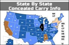 Concealed Carry Info by State