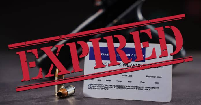 Ohio Pandemic Order for CCW License Now Expired