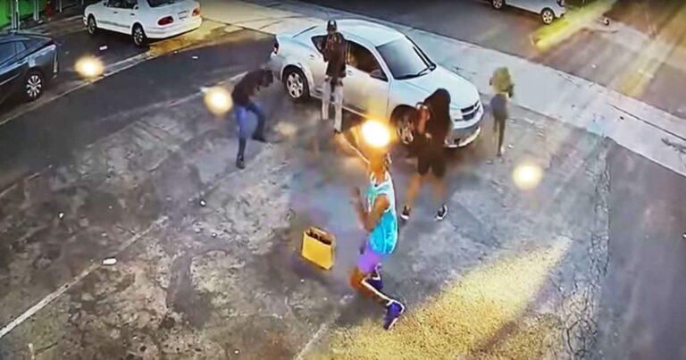 Victim 'Draws From the Drop' Hitting Both Would-Be Robbers
