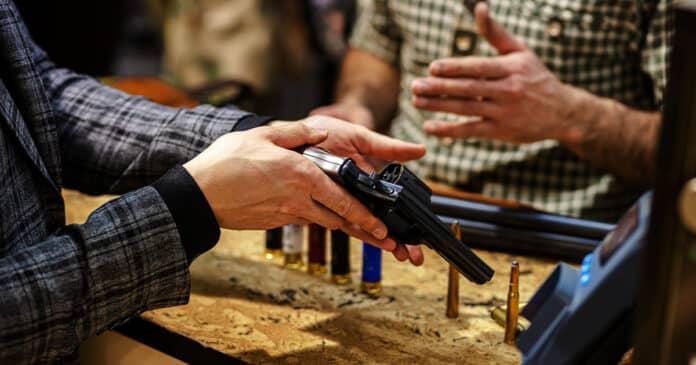 Woman Struck by Negligent Discharge at Gun Show