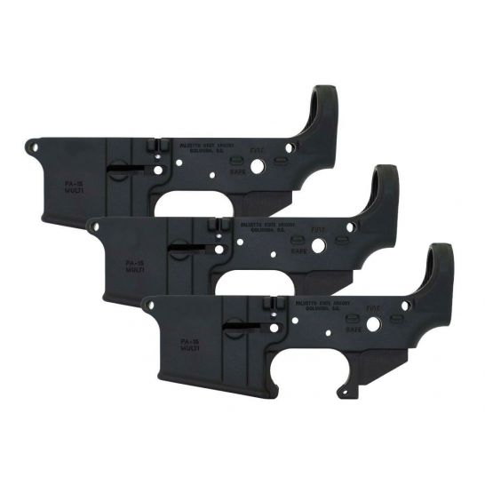 3 Pack Of Blem Psa Stealth Ar-15 Lowers