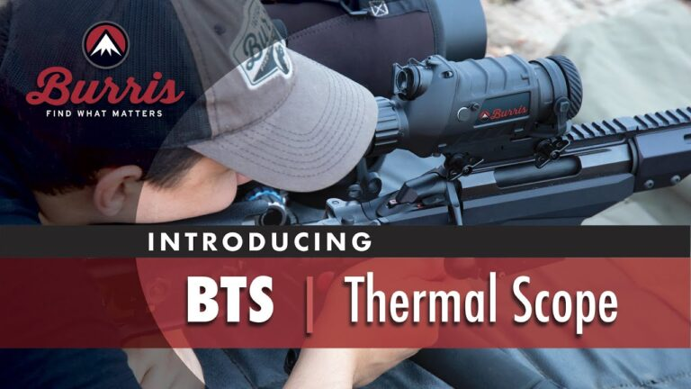 Introducing the Burris Thermal Rifle Scope (BTS) from @BurrisOptics