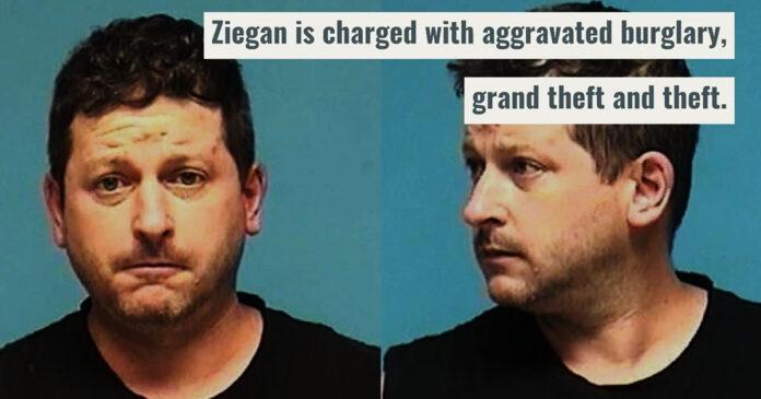 Ohio Homeowner Finds Burglar w/ His Gun, Holds Him at Gunpoint for Police
