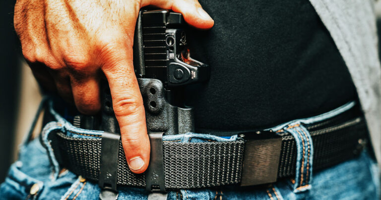 Concealment is a Verb: Re-holster Immediately Following Violence