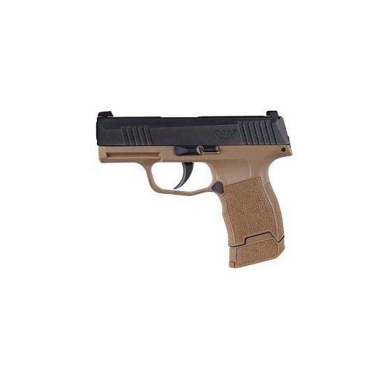 Sig Sauer P365 9mm Pistol 12 Rd RTT Tacpac, Coyote