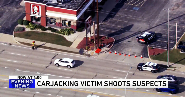 Carjacking Victim w/ CCW Fires On Two Teens As They Drive Away