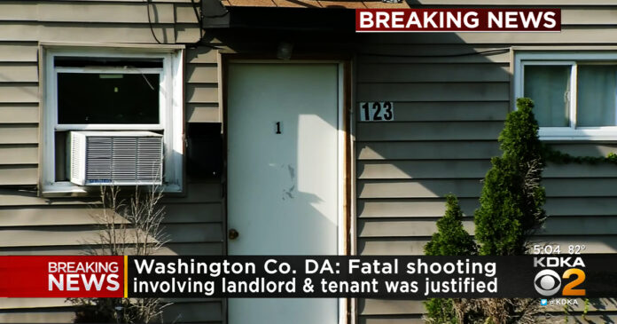 Landlord w/ Concealed Carry Permit Justified in Fatally Shooting Tenant