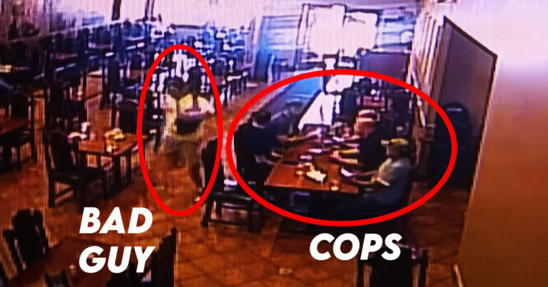 Shooting Suspect Arrested After Running into Restaurant Full of Police