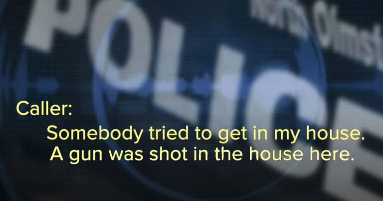 Elderly Wife Shoots Home Invader Fighting w/ Husband