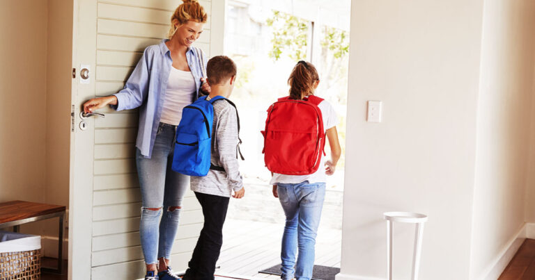 Family Safety When Entering and Exiting the Home