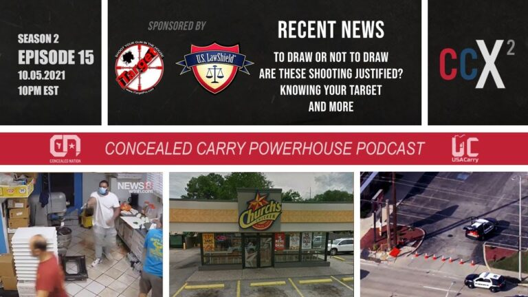 CCX2 S02E15: When or When Not to Draw, Justified?, Know Your Target & More