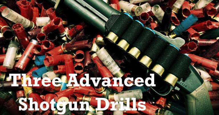 """Three """"Advanced"""" Shotgun Drills"""